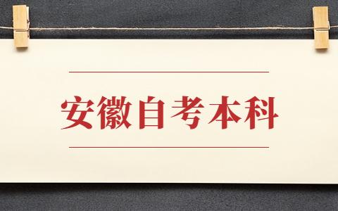 安徽省自考本科考试时间